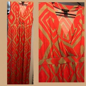 Dresses & Skirts - Orange and Tan Sundress